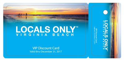 Locals Only Discount Card